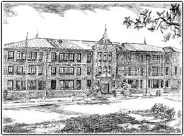 Archival Photo of St. Francis de Sales Cathedral School